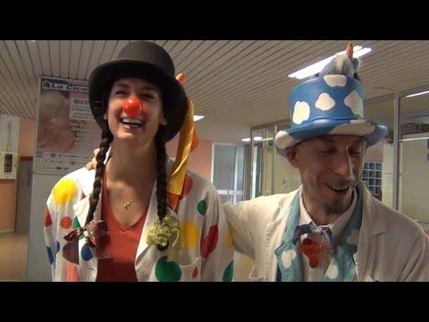 Clown in corsia: quando in ospedale mi scappa da ridere
