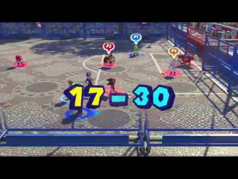Mario and Sonic at the Rio 2016 Olympic Games for  Duel Football 4 Player