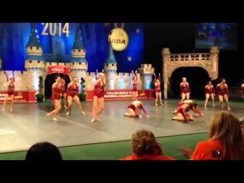 CAL STATE FULLERTON DANCE TEAM 2014 UDA D1 NATIONAL CHAMPIONS