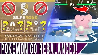 MAJOR REBALANCE IN POKEMON GO! Nest & Weather Changes, Gym Defenders Balancing, and PVP Preparation!