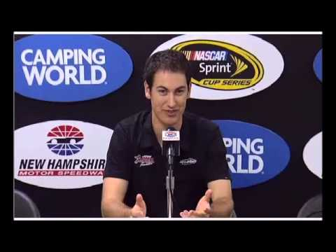 Joey Logano NASCAR Interview at NHMS