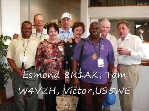 Floyd Virginia, Dayton Hamvention  2009 -FAIRS Team and Booth 412