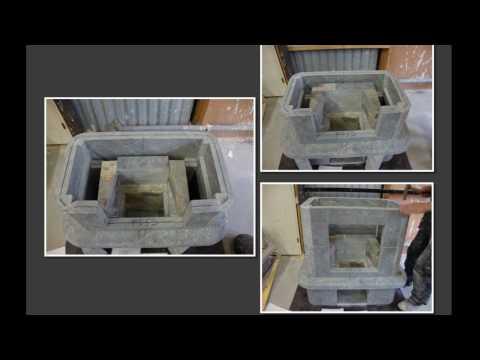Soapstone heater from Finland.wmv