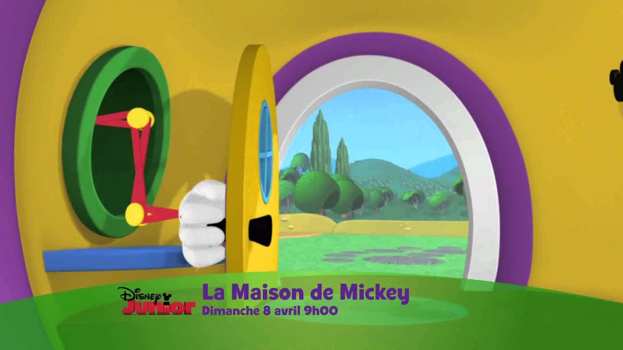 disney junior la maison de mickey la chasse aux oeufs de p 226 ques dimanche 8 avril 224 9h00