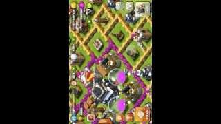 clash of clan+วิธีฟาร์มที่คนเทพๆเขาทำกัน
