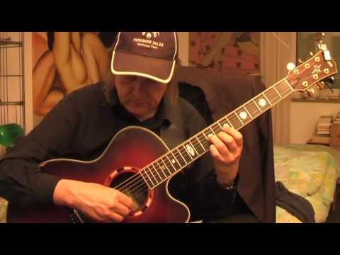 Blues - Love in Vain Guitar Lesson by Siggi Mertens