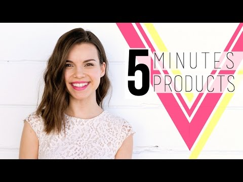 5-Minute Face with 5 Products! // Spring 2015