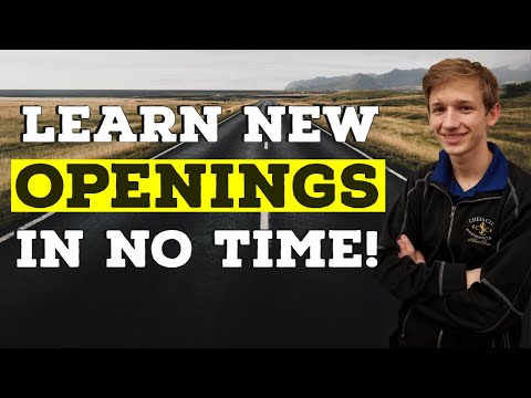 Learn New Openings in No Time! | Road to 2000 - NM Caleb Denby