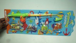 Fishing Toy Game with Rod and Fishes Toy