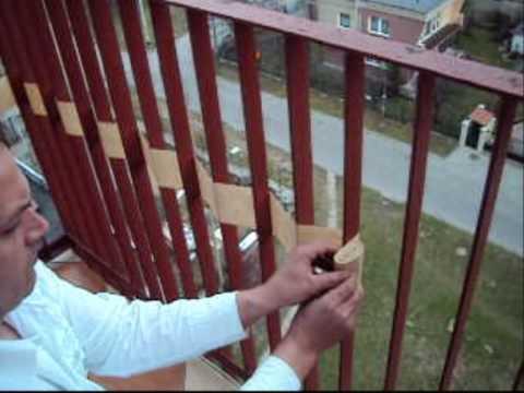 Osłona na balkon ikea