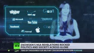 (Edward Snowden) global revolution: 1 yr of revelations  6/5/14