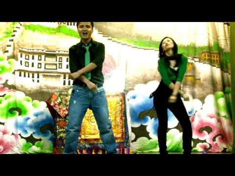 Desi Girl (dostana) Dance By Thupten Rinchen & Lobsang Dolma video