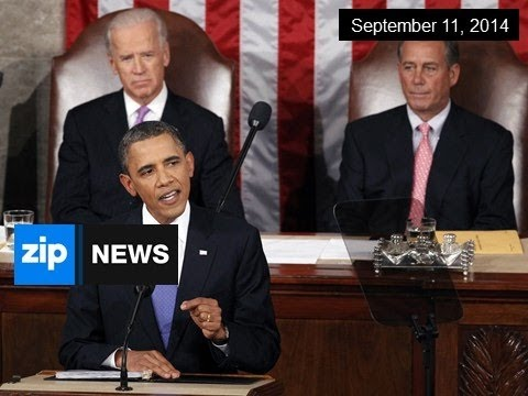 Obama Briefs Congress On IS Strategy - Sep 11, 2014