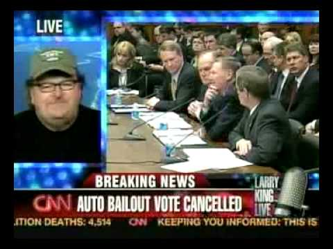 Michael Moore: We Don't Need Any More Crap from Detroit Video