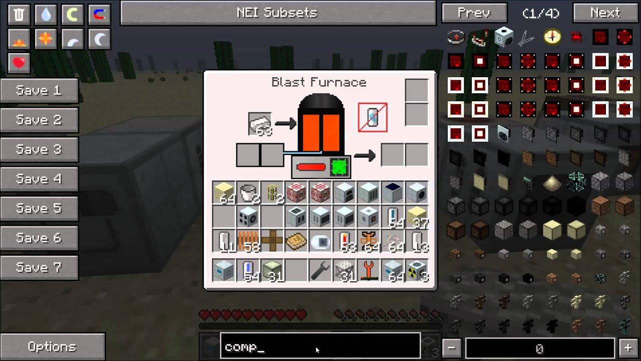 mine craft how to make furnace