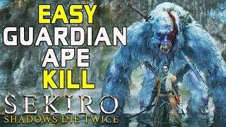SEKIRO BOSS GUIDES - How To Easily Kill The Guardian Ape!