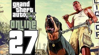 Let's Play GTA V Online (GTA 5) - EP27 - Trolly Air Base