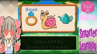 Learn English For Kid #12: Snail, Home, Box | Easy and Funny