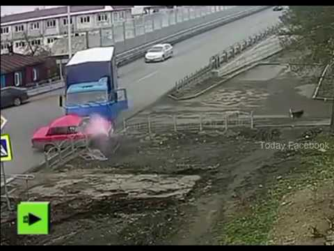 Many Accident Caught on Same Place - CCTV Footage - Today Facebook