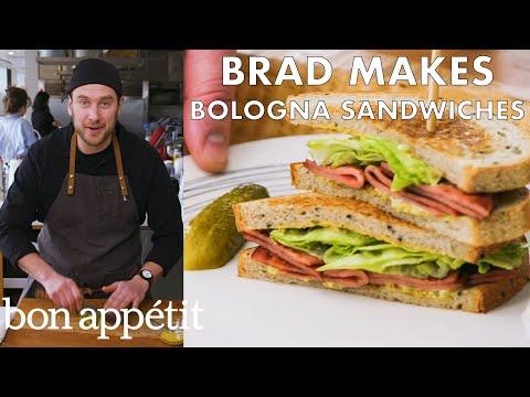 Brad Makes Fried Bologna Sandwiches | From the Test Kitchen | Bon Appétit