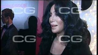Cher presents Burlesque in Madrid (09.12.2010)