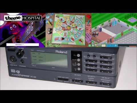 Theme Hospital - Roland SC-88 Soundtrack