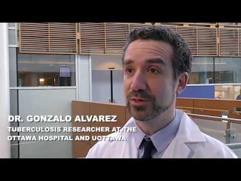 Dr. Gonzalo Alvarez, Tuberculosis researcher at The Ottawa Hospital and uOttawa