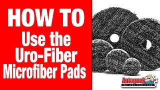 The Buff and Shine Uro-Fiber Microfiber Pads