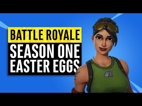 Fortnite Battle Royale   Season One Easter Eggs