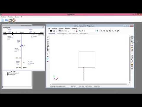 Creazione manuale della rete con coordinate note