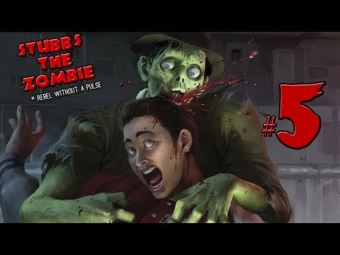 Stubbs the Zombie - часть 5: Потерял голову...