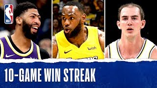 LakeShow Dazzles Through 10-Game Win Streak!