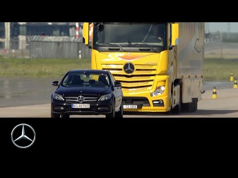 Mercedes-Benz Actros. Testy systemów bezpieczeństwa (PL)