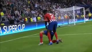 Atletico madrid vs real madrid 3-2 Saul Niguez
