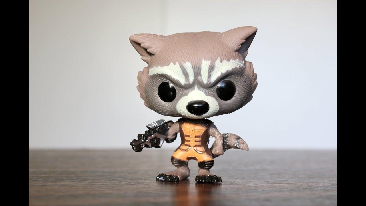 Rocket Raccoon Guardians Of The Galaxy Funko Pop Review