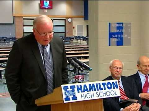 Hamilton High School Dedication Ceremony 11/29/12