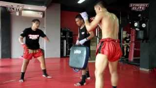 Selvi and Dicky - Synergy Elite Muay Thai Fighter