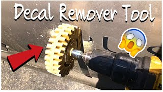 Decal Remover Tool