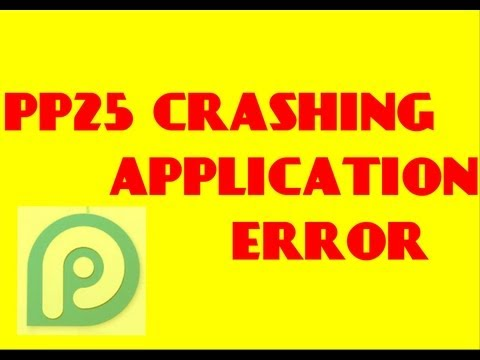 How to: Fix 25pp crashing apps & Apple ID error | 25pp Crashing applications solution