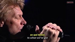 Bon Jovi Livin 39 On A Prayer Legendado Português Br