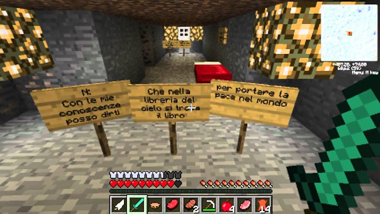 Minecraft Survival Map Quot La Storia Di Herobrine Quot Ep 2