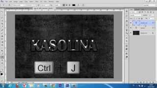 Photoshop Tutorials:Cam Metin (Glass Text)