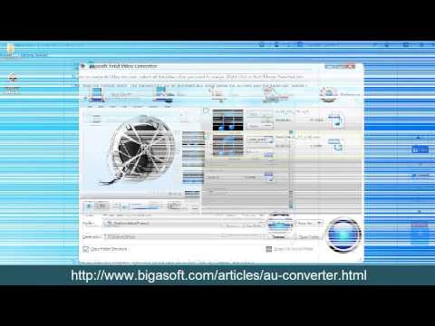 AU Converter - How to Convert AU to MP3, WAV, FLAC, AIFF, WMA?