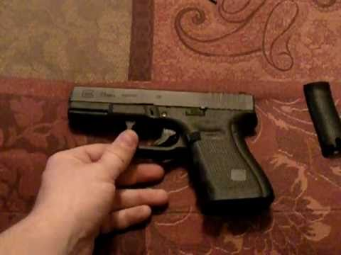 HOW TO: adjust Gen4 GLOCK 23 backstrap