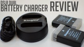 Kingma Dual Battery Charger Review (DSLR) (Youtuber Essentials #3)