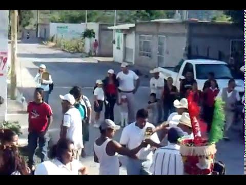 chinelos en tlayecac 2010 desde colorines  mex