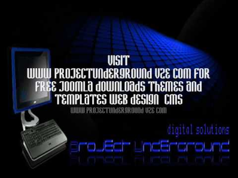 Free joomla themes, website templates, downloads www.projectunderground.vze.com