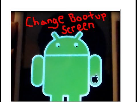 How to Move apps to external SD card & change bootscreen