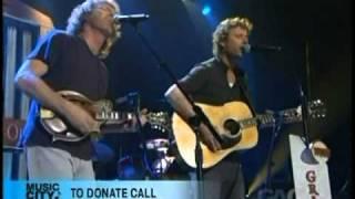 Dierks Bentley & Sam Bush - Gold Heart Locket - Flood Relief Benefit 2010