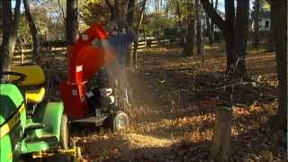 Wood Chipper Review - Dan D's  Review of the DR Chipper Part 2